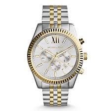 men s michael kors watches ernest jones michael kors men s silver chronograph bracelet watch product number 3833909