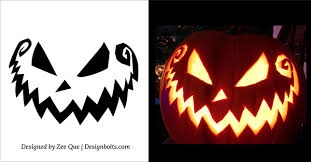 Pumpkin Carving Pattern Simple 48 Free Scary Halloween Pumpkin Carving Patterns Stencils Ideas