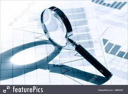 business graphics business research stock picture i at  business graphics business concept magnifying glass on paper background chart