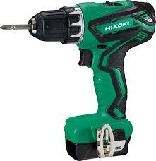 <b>Шуруповерт аккумуляторный HiKoki</b>, HKK-<b>DS10DAL</b>, зеленый ...