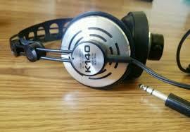vintage akg headphones. akg k140 headphones - made in austria vintage hifi