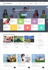 College Templates 41 College Website Themes Templates Free Premium