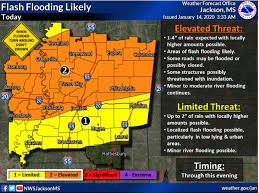 Flash Flood Warning in Effect for City ...