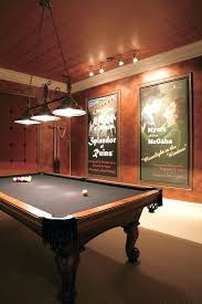 billiard room lighting. Games Room Family Traditional With Pool Table Movie Posters Lighting Billiard