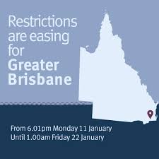 Alliance airlines confirmed it would be rolling out its immunisation policy which requires all workers, including contractors and their employees working at the airline. Queensland Health On Twitter The Greater Brisbane Region Will Transition To Eased Restrictions At 6 01pm Today Following A Weekend Lockdown Enacted To Contain Any Potential Spread Of The Uk Variant Of Covid 19