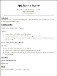 Resume Format For Job In Word Resume Corner