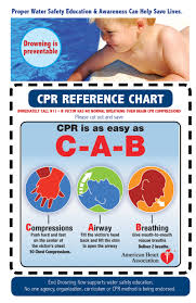 Cpr Chart 2016 Infant Child Adult Cpr End Drowning Now Water Safety