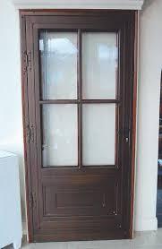 Backyards : Decorative Storm Doors Classic Wrought Iron Security ...