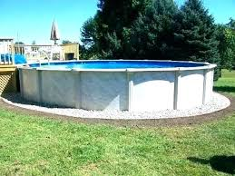 diy above ground pool abo ground pool landscaping ideas what to put around 8 in diy