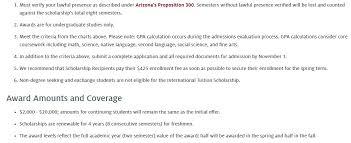 Freshman International Tuition Grant At University Of Arizona
