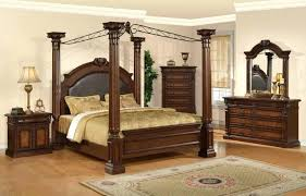 King Size Canopy Canopy Bed Curtains Throughout Bedroom Sets With ...