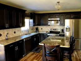 kitchen countertops quartz with dark cabinets. Image Of: Dark Cabinets Light Countertops Backsplash Designs Kitchen Quartz With