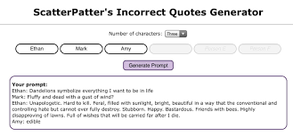 Number of characters this generator is not meant to imply any adult/minor, abusive, incestuous, or otherwise problematic ships. Some Stuff Incorrect Quotes Ft Mark Amy Ethan Sean And Evan Wattpad