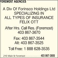 foremost car insurance phone number fiat