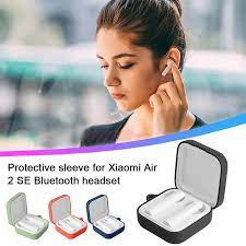 Ốp Lưng Dẻo Silicone Xiaomi Air 2 SE Bluetooth Không Dây Bảo Vệ Tai Nghe  Chụp Tai Phụ Kiện Đồng Màu Hộp Cho Không Khí 2|Earphone Accessories