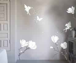 flower fairy wall stickers