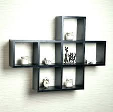 square shelves box wall mounted ikea floating shelf storage cubbies