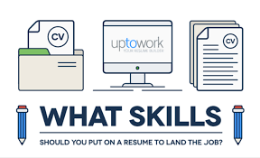 How To Showcase Your Skills On A Resume Infographic