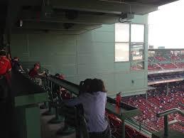 Fenway Seating Chart Pavilion Club Fenway Park Pavilion Club Baseball Seating Rateyourseats Com