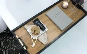 bathtub tray wooden