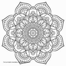 Advanced Mandala Coloring Pages Lovely Mandala Coloring Pages