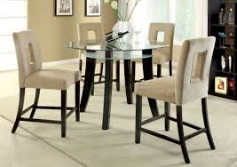 round counter height table and chairs home decor color as well as elegant counter height round