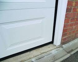 garage door trackGarage Door Bottom Seal and Track