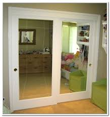 sliding closet door mirror mirrored sliding closet doors cool replacing mirrored closet doors with additional house
