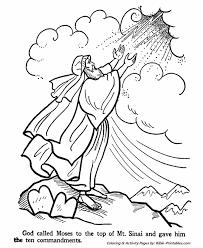 Ten Commandments Coloring Pages Free Jokingartcom Ten