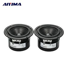 2018 whole aiyima hifi speaker full range bass subwoofer tweeter new 3 inch 15 w diy home theater loudspeaker system audio speakers from becke