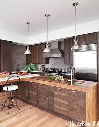 modern wood kitchen cabinets. Modern Wood Kitchen \u2013 Walnut Cabinets