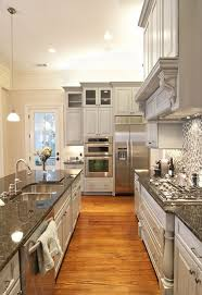 dark granite countertops grey cabinets dust is not immediately visible on a grey background so constant cleaning is not absolutely necessary