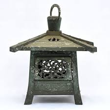 oriental outdoor lighting. Japanese Bronze Garden Lantern - B17069 850.00 Oriental Outdoor Lighting