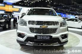 2015 Chevrolet Trailblazer SVP Front at the 2014 Thailand Motor ...