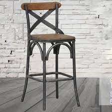 industrial loft furniture. american retro sen vatican industrial loft iron wood tall bar chairs the old metal stool furniture