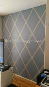 Diamond Pattern weekend painting DIY
