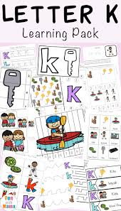 Say a sound and children identify the correct letter(s) by circling/colouring. Letter K Worksheets Fun With Mama