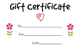 How To Make A Gift Certificate Make Your Own Gift Certificate Magdalene Project Org
