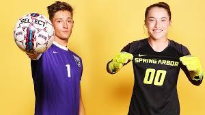 SAU goalkeepers earn Player of the Week honors - Spring Arbor University