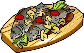 """Résultat de recherche d'images pour """"clipart plat poisson"""""""