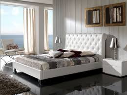 Platform Bedroom Furniture Made In Spain Leather Luxury Platform Bed With Drawers New York