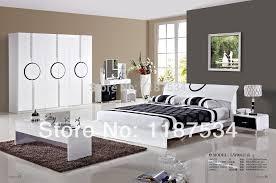 Modern White Bedroom Set As Bedroom Curtains Modern White High Gloss ...