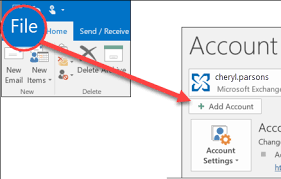 Add An Email Account To Outlook Office Support