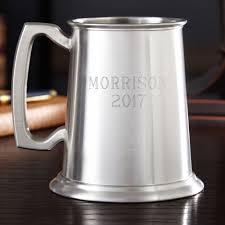 Glass bottom beer mug