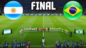 Argentina vs Brazil - COPA AMERICA ...