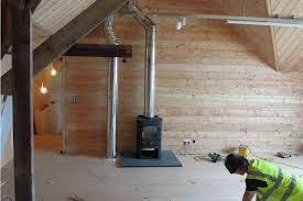 wood stove chimney cap flue