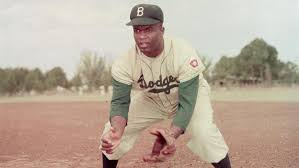 jackie robinson breaks color barrier apr com