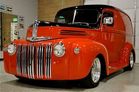 1947 Ford Panel Truck   Red Hills Rods and Choppers Inc. - St ...