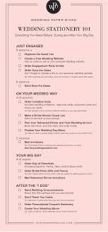 what you need for a wedding checklist wedding stationery checklist