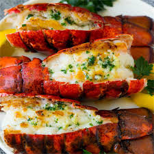 Grilled Lobster Tail - Dinner at the Zoo